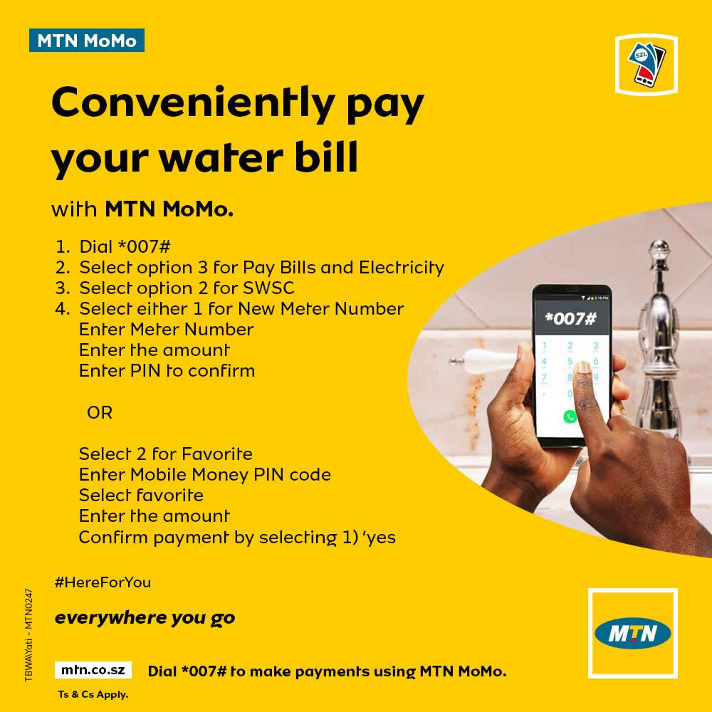 mtn mobile money payment