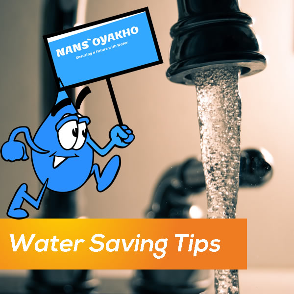Save Water tips from Eswatini Water Services Corporation (EWSC)